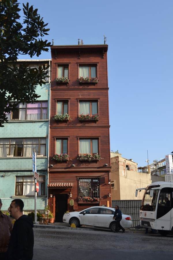 Типичный стамбульский дом