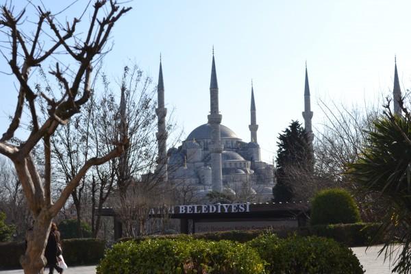Голубая мечеть - самая громкая