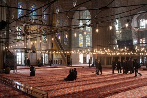 Ковер в Голубой мечети