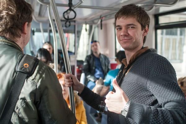 Ване Степанькову понравилось путешествие в трамвае