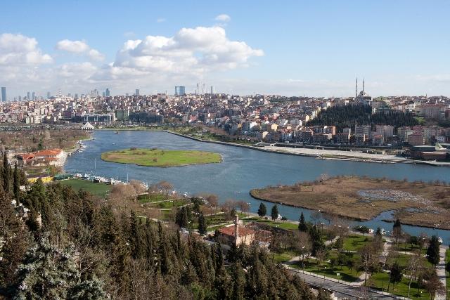 Вид на Босфор
