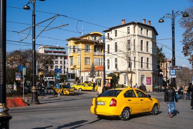 Стамбульское такси